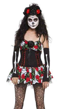 3df0c16e49e sugar skull Halloween costume Sugar Skull Halloween Costume
