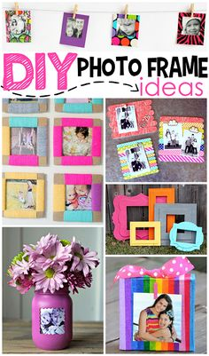 Diy Picture Frame For Kids - Diy Photo Frame Ideas Photo Frame Crafts Picture Frame Crafts Diy Popsicle Stick Picture Frame Kids Craft Popsicle Stick Diy Cardboard Frame With Kids. Diy Photo, Cadre Photo Diy, Photo Craft, Photo Frames For Kids, Paper Picture Frames, Photo Frame Ideas, Dyi Photo Frames, Decorating Picture Frames, Diy Picture Frames On The Wall