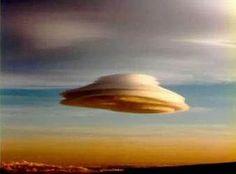 Is it a bird? Is it a plane? Is it UFO?  No, just lenticular clouds.