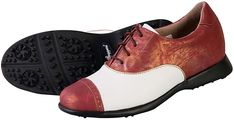 In the market for new golf shoes? Lori's Golf Shoppe carries a selection of cool stylish golf shoes for women. Check this one out --> SPECIAL Sandbaggers Ladies Golf Shoes - AUDREY Cabernet