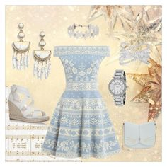 """""""Vintage with Floral"""" by anjalisavlani ❤ liked on Polyvore featuring Kaisercraft, Alexander McQueen, Miss Selfridge, Ted Baker, BaubleBar, Michael Kors, Effy Jewelry, vintage, trending and bohochic"""