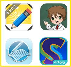 4 Awesome iPad Apps to Help Kids with Their Writing ~ Educational Technology and Mobile Learning