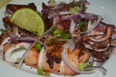 Mely's kitchen: Inihaw na Pusit