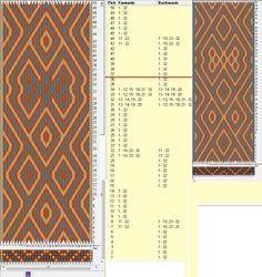32 tarjetas, 3 colores, repite cada 36 movimientos // sed_985 diseñado en GTT༺❁
