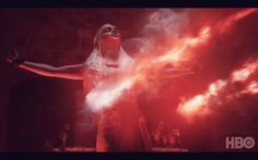 Daenerys and the fire