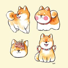 gonna look great on a tees Cute Animal Drawings, Kawaii Drawings, Cute Drawings, Anime Animals, Animals And Pets, Cute Animals, Kawaii Doodles, Kawaii Art, Cute Pictures To Draw