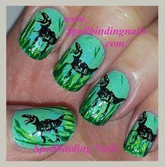 Spellbinding Nails: MoYou - 66 - 'Planet Dinosaur! '
