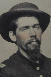 He was born 06 Aug 1841 Rainsboro, Highland County, Ohio and died 01 May 1902 De Witt, Clinton County, Iowa. He married Eva V. He was a s/o John McCoy (ca -? My Family History, Us History, American Civil War, American History, Hatfield And Mccoy Feud, Hatfields And Mccoys, The Mccoys, Man Of War, Family Feud