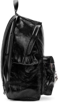 Versus Black Patent Leather Backpack