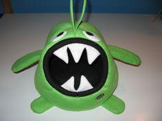 Zöld szörnyecske