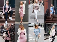 Iskra Lawrence Is On the Move: RunwayRiot Styles Outfits With Universally Sized Brands in the Colors of the Year