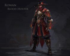 ArtStation - Rowan Blood Hunter, MuYoung Kim