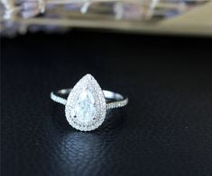 Moissanite Wedding Rings, Wedding Rings Solitaire, White Gold Wedding Rings, Halo Rings, Expensive Wedding Rings, Custom Wedding Rings, Expensive Rings, Engagement Solitaire, Bridal Ring Sets