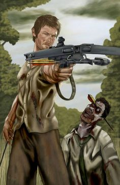 Daryl Dixon by AJ Moore