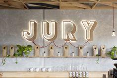 Jury Cafe by Biasol:Design Studio, Melbourne - Australia