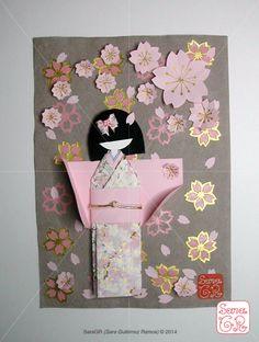 Sakura Shiori Ningyo by SaraGR saragrcreative.wix.com/saragrportfolio