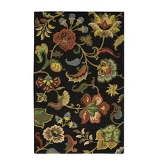 Home Decorators Collection Chintz Charcoal 5 ft. x 8 ft. Area Rug - 1889720270 - The Home Depot