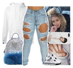 """"""""""" by daeethakidd ❤ liked on Polyvore featuring SWEAR and MCM"""