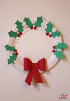 11 Easy Paper Plate Crafts for Toddlers and Preschoolers. Easy crafts for kids. Fun and engaging hands on crafts for kids. Childrens Christmas, Preschool Christmas, Christmas Crafts For Kids, Christmas Activities, Diy Christmas Ornaments, Christmas Themes, Holiday Crafts, Christmas Holidays, Christmas Decorations