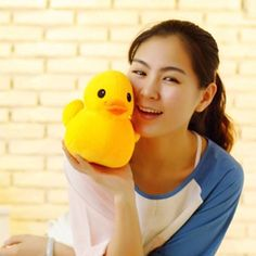 Dolls,Plush toys 20 cm,20 cm Mini yellow duck