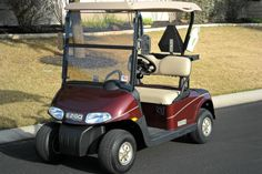 2011 EZGO RXV 48 VOLT ELEC GOLF CART