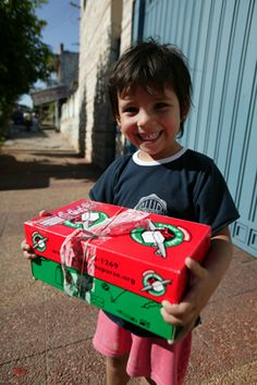Operation Christmas Child - More Box Ideas!