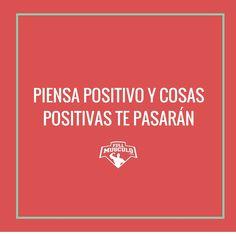 Cambia tu mind set. Empieza a pensar positivo todo el día y todos los días y verás como todo a tu alrededor empieza a cambiar