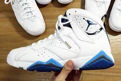 1d5bcb5a8241b0 jordan 7 remastered french blue 2015 3 Air Jordan 7 French Blue Release Date