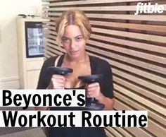 Queen Bey doesn't spend hours in the gym working on her fitness, and you don't have to, either.