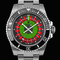 Roulette Dial Rolex Submariner by BREVET+ Rolex