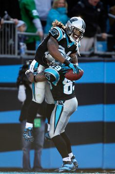 Panther Pride! Deangelo Williams & Steve Smith