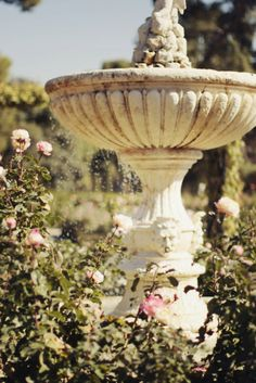 Garden Fountain is another must! So heavenly