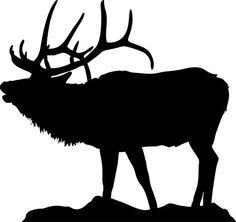 Silhouette of elk for flat-bottom-bowls_ http://www.clipartpanda.com/clipart_images/silhouette-clip-art-elk-25208902