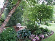 Perennial Garden Plans For Shade - Shade Garden Layout . Perennial Garden Plans, Perennial Gardens, Best Perennials For Shade, Plants Under Trees, Shade Garden Plants, Garden Pictures, Container Gardening, Flower Gardening, Indoor Gardening