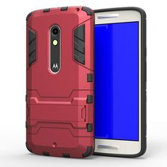 Anti-knock Case For Moto X Play Cover Soft Silicone + Light Plastic For Moto X Play Case For Motorola Moto X Play XT1563 [<