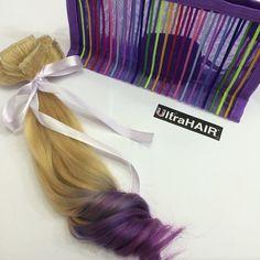 Acabou de ficar pronto mais um  Kit fofo de 07 peças da linha Edition Ombré Fusion. Cada Ultra Hair é feito com muito carinho e se torna muito especial para quem os recebe e para nós! Amanhã vai para o correio! Boa Noite princesas!!!