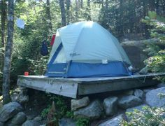 Put the tent up on a platform tent platforms for Tent platform plans