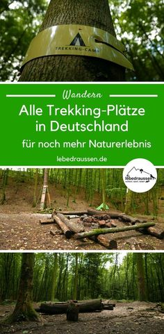 Mit Rucksack und Zelt: alle Trekkingplätze in Deutschland Undisturbed walking in Germany with tent: An ultimate list with all the trekking spots for your tour planning. Bushcraft Camping, Kayak Camping, Camping Survival, Camping Hacks, Campsite, Outdoor Fun, Outdoor Camping, Outdoor Travel, Trekking