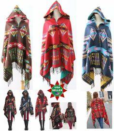 New Women Soft Shawl Warm Cloak Cape Knit Scarf Wrap Classic Winter Shawl