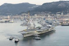 French Marine Nationale Port Avions (aircraft carrier) FS Charles de Gaulle.