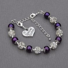 Special Sister Gift, Special Sister Charm Bracelet, Sister Jewelry by AMIdesigns on Etsy https://www.etsy.com/listing/190230174/special-sister-gift-special-sister-charm