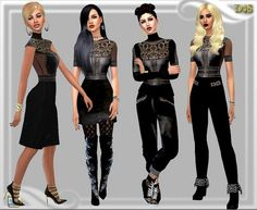 Dreaming 4 Sims: MMXVI Set • Sims 4 Downloads