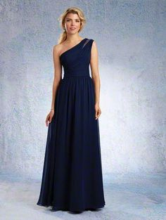 This is the dress! Alfred Angelo Bridal Style from Designer Bridesmaid Dresses One Shoulder Bridesmaid Dresses, Designer Bridesmaid Dresses, Bridesmaid Dress Styles, Wedding Dresses, Wedding Bridesmaids, Alfred Angelo Bridesmaid, Alfred Angelo Bridal, Mob Dresses, Dresses For Sale