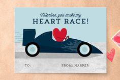 Racecar Classroom Valentine