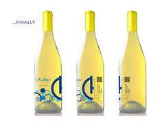 wine label_1 on Behance