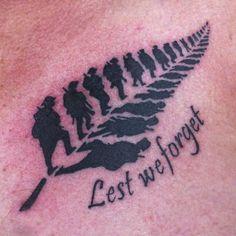 New Zealand war veteran's ANZAC tattoo sparks social media frenzy