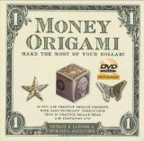 """Need a snazzy new idea for a gift, or trying to make a great first impression? Try folding some amazing origami out of a dollar bill and watch the reaction! Money Origami is a fun and creative book full of unusual origami designs specific to the dollar bill. Imagine the response if you gave a dollar bill butterfly to your girlfriend, or a talking ape to your boss. With twenty-one projects, and lots of """"dollar"""" practice sheets, Money Origami is sure to be a hit!  Includes instructional DVD."""