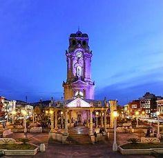 Imagen del Reloj Monumental en Pachuca Hidalgo, Mexico