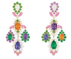 These Dear Dior earrings are one of the only two reproducible pieces in the collection.