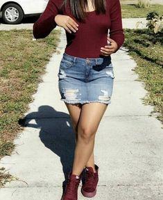 6afc14d06 12 mejores imágenes de chicas en minifalda jeans ajustada en 2018 ...